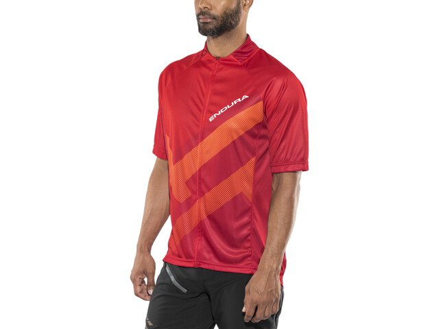 Endura Hummvee Ray Shortsleeve Jersey Herre red